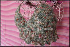 "Top de crochet ""Boho Beach Day"""