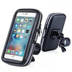 Bike Phone Mount, RISEPRO Waterproof Universal Case Bicycle & Motorcycle Mount Cradle Holder Dust Rain Snow Resistant iPhone 6 6S, 7, 7 plus >>> You can find out more details at the link of the image.