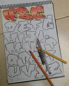 #abcs #alphabets #alphabet #alfabet #alfabeto #letteringinspiration #letters #graffitiletter #typographyinspired #typography #typograffiti… Graffiti Alphabet Styles, Graffiti Lettering Alphabet, Chicano Lettering, Graffiti Wall Art, Best Graffiti, Graffiti Font, Graffiti Designs, Graffiti Characters, Graffiti Tagging