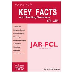 Buy ATPL Exam prep and Keyfacts keynotes books at Flightstore and get same day deapatch Pilot Training, Pilot Gifts, Learning Objectives, Meteorology, Meant To Be, Knowledge, Facts, Key, Books