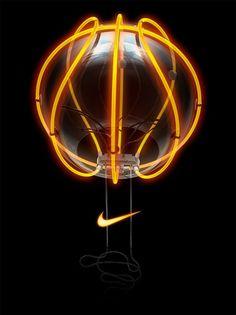 Nike Basketball lamp