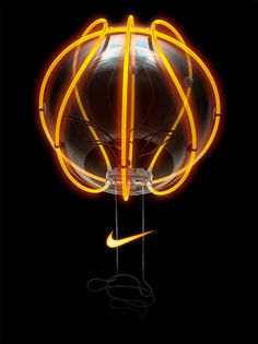Nike Basketball lamp