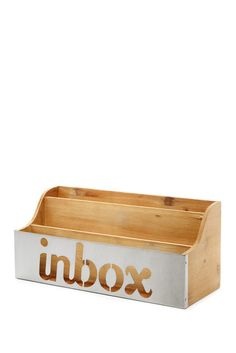 DIY inspiration-Inbox Letter Sorter-Sponsored by Nordstrom Rack