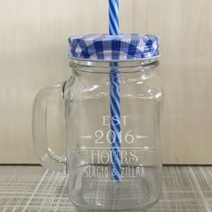 New Arrivals Mason Jar Bottle ice cream Fruit Cold Drinking Cups Unique Design Glass Water Bottles Mug Custom DIY Home Storage