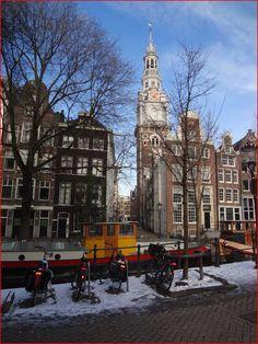 Zuiderkerk gezien vanaf de Groenburgwal