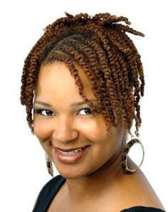 Two Strand Twist | Black Women Natural Hairstyles