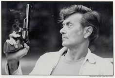 Photo of Frank Frazetta, leading to the question of how much of his work is self-portrait, or perhaps, self-parody?