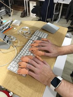 critical-perspective:  lexicaloracle:  constantpains:  @lumpofmoss  Hacker voice: I'm in     #prank #cyborg #サイボーグ((●≧艸≦)プププッ気持ち悪ぅ...