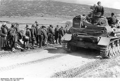 In early April 1941, Greek, Yugoslav and British commanders met to set in motion a counteroffensive, that planned to completely destroy the ...