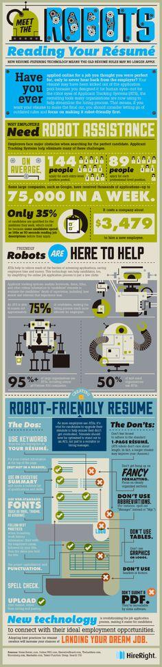 Ecco i #robot che leggono il vostro #CV | @Italians in Fuga