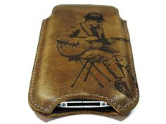 iPhone 4 Case - Vintage Guitarist