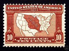 #327 10c Red Brown 1904 Louisiana Purchase *MNH* PO Fresh CV $330- Giant Rare Stamp Sale - http://stores.ebay.com/Little-Art-Treasures