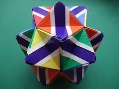 Flowered sonobe: instruction (Meenakshi Mukerji) This is an awesome modular origami sonobe. Pretty tedious, but worth it.
