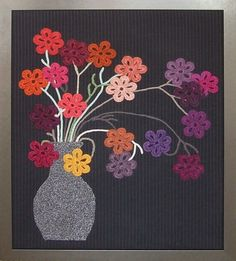 Knitted and crocheted artwork by Joanna Clark Designs