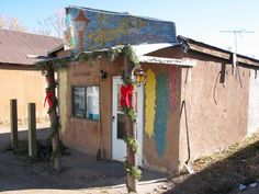 El Farolito is a tiny diner on the Main Street of El Rito, a town that is little more than a main street.