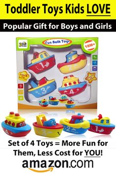 Toddler toys kids love!  These make a great gift.  Get it now at Amazon.