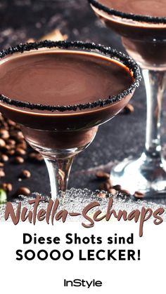 Genial: Nutella-Schnaps gibt's wirklich – das Rezept zum Selbermachen hier! Nutella plus vodka? That should taste? And wiieeee ! We found the best recipe for a delicious Nutella schnapps. Easy Snacks, Easy Healthy Recipes, Snack Recipes, Vodka, Exotic Food, Schnapps, Vegetable Drinks, Alcohol Recipes, Clean Eating Snacks