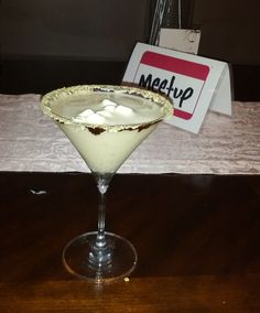 Drinks with my ladies at Anna Shea's Chocolate Lounge. S'mores martini, I think I have a thing for Marshmallows.