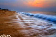 Golden Beach in Puri