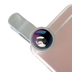 KOLPCTT New Universal 3IN1 Mobile Phone Camera Clip Lens Special Effects Shots Macro  180 Degree Supreme Fish Eye  067X Wide Angle  04X Wide Lens With A Clamp and A Free Flannelette Bag ** You can get additional details at the image link. (This is an affiliate link) #CameraBags