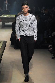 Carven | Fall 2014 Menswear Collection.
