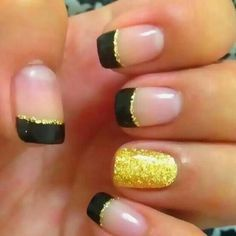 Gold glitter.  Would rather use purple or pink