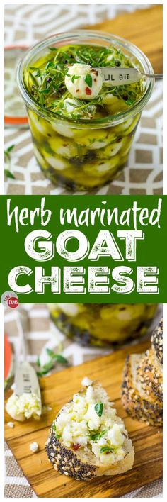 Pinterest Marinated Goat Cheese Balls for your cheese board | Take Two Tapas