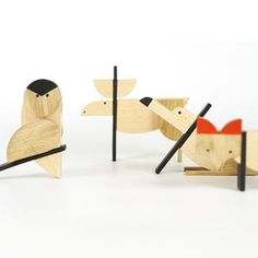 ESNAF are #handmade magnetic wooden toys designed and made by the architecture studio Archabits. The embedded magnets allow each toy to be assembled in multiple ways which are not only a great game but also an intellectual challenge for the little ones. The toys are not just for children, but they also look great as decorations for your home! #woodentoy #giftideas #giftsforkids #craftedtoys #christmasgifts #handmadetoys