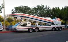 Proud American land speed record car - fvl
