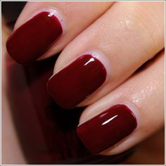 """China Glaze - """"Velvet Bow"""", Let It Show Collection (can I have this color as lipstick please???)"""