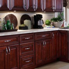 Kitchen design nautical theme with mahogany kitchen - B jorgsen cabinets ...