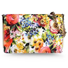 Best Handbags and Purses :    Picture    Description  Dolce & Gabbana Floral Bag – 10 of the best and brightest summer bags: www.harpersbazaar…