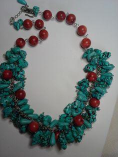 turquoise, sponge coral
