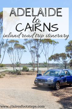 If you're visiting Australia and want to road trip through New South Wales' outback and Queensland's hinterland, visiting outback towns such as Broken Hill and Lightning Ridge, national parks like Canarvon Gorge and breathtaking waterfalls in the Atherton Tablelands, check out this Adelaide to Cairns drive itinerary.