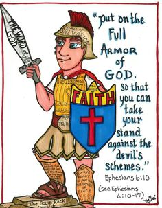 The armor of God..