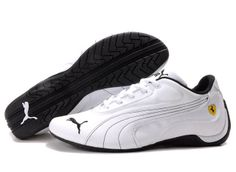 Puma Ferrari Shoes | Puma Shoes, Common Puma Ferrari Shoes White