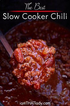This Crockpot Chili