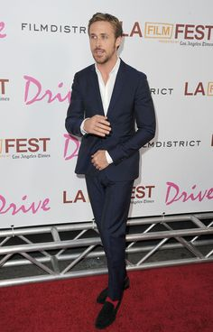 """Ryan Gosling Photos Photos - Actor Ryan Gosling arrives at the  """"Drive"""" Gala Premiere during the 2011 Los Angeles Film Festival at Regal Cinemas L.A. Live on June 17, 2011 in Los Angeles, California. - Premiere of """"Drive"""""""