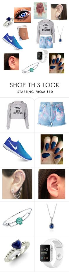 """""""Untitled #29"""" by kristen-cooley on Polyvore featuring Forte Couture, NIKE, Otis Jaxon, Disney, Blue Nile and Diamondere"""