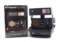 Polaroid Camera 600 Sun Autofocus 660  #vintage #photography #80s