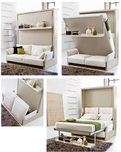 30 Amazing Convertible Furniture Design for Small Spaces Ideas – Decor is art Couch Furniture, Space Saving Furniture, Furniture Design, Furniture Ideas, Trendy Furniture, Office Furniture, Murphy Furniture, Space Saving Beds, Decoupage Furniture