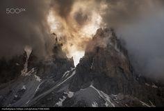 Dolomite Alps - stock photo