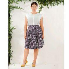 Modelos de falda para gordas  #falda #gordas #modelos #modelosdeFalda