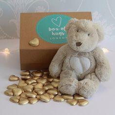 Ted & 50 Chocolate Hearts Hug