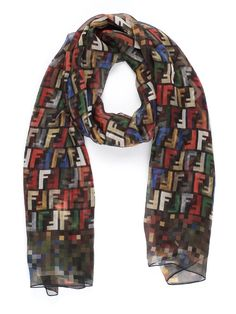 4a8d80968496 10 Best ❦ ❦ Fendi Scarf images