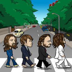 Abbey Road cartoon