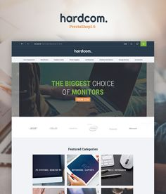PrestaShop Theme , Hardcom -