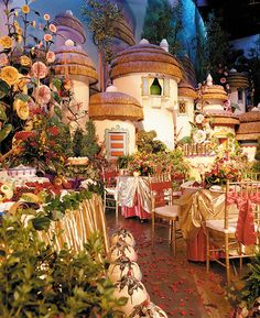 If I had only known we could've had our wedding reception in Oz! ~ 29 Magical Places At Disney You Never Knew You Could Get Married