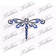 Marketplace Tattoo dragonfly #7739 | CreateMyTattoo.com