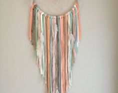 The Brynn Triangle Dreamcatcher Wallhanging by MeadowandMoss